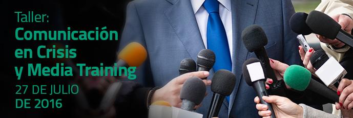Comunicación  en Crisis y Media Training